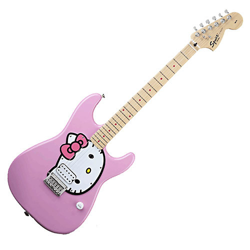 which of these hello kitty fender guitars do you like best poll results hello kitty fanpop. Black Bedroom Furniture Sets. Home Design Ideas