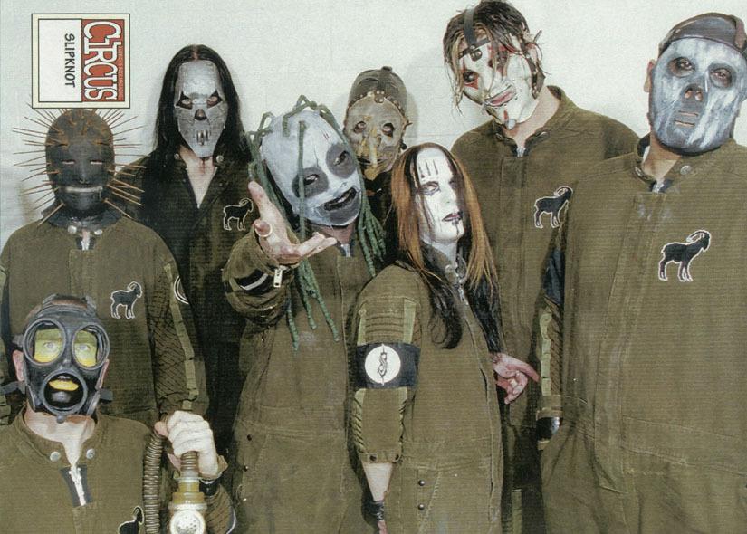 Slipknot Masks 1999 | www.imgkid.com - The Image Kid Has It!