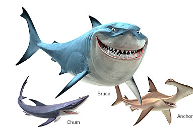 Finding Nemo Sharks Names SharksFinding Nemo Sharks Names